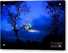 Midnight Clouds Acrylic Print
