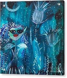 Midnight Fairy Acrylic Print