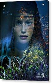 Midnight Gaia Acrylic Print by Shadowlea Is