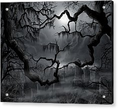 Midnight In The Graveyard II Acrylic Print