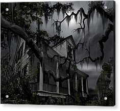 Midnight In The House Acrylic Print