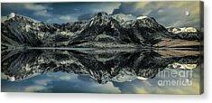 Midnight Lake Acrylic Print