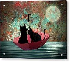 Midnight Love 2 Acrylic Print
