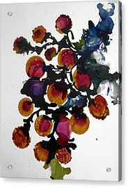 Midnight Magiic Bloom-1 Acrylic Print