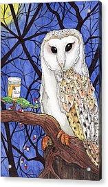 Midnight Meds Acrylic Print