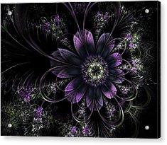 Midnight Mistletoe Acrylic Print
