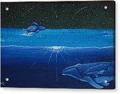 Midnight Acrylic Print by Nick Flavin