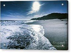 Midnight Ocean Fine Artwork Acrylic Print