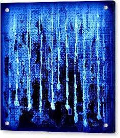Midnight Rain Acrylic Print