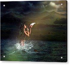 Midnight Release Acrylic Print