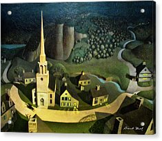 Midnight Ride Of Paul Revere Acrylic Print