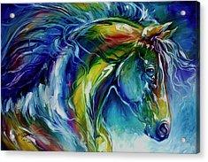 Midnight Run Equine Acrylic Print