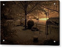 Midnight Special Acrylic Print by Mick Anderson