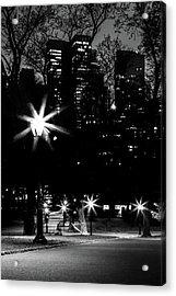 Midnight Strolls Acrylic Print