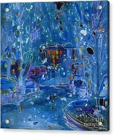 Midnight  Acrylic Print