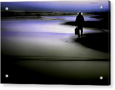 Acrylic Print featuring the photograph Midnight Wanderer by Gray  Artus