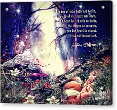 Midsummer Night Dream Acrylic Print