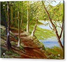 Midsummer Walk Acrylic Print