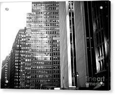 Acrylic Print featuring the photograph Midtown Light by John Rizzuto