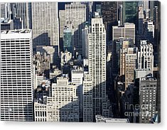 Midtown Manhattan Acrylic Print
