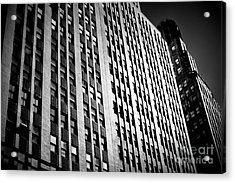 Acrylic Print featuring the photograph Midtown Noir by John Rizzuto