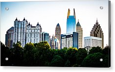 Midtown Skyline Acrylic Print