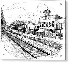 Midway Kentucky Acrylic Print