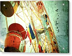 Midway Spin Acrylic Print