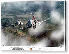 Acrylic Print featuring the digital art Migcap Duty - Phu Ly by Peter Chilelli