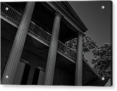 Acrylic Print featuring the photograph Mighty Columns - The Hermitage by James L Bartlett