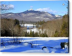 Mighty Mt. Chocorua 2013 Acrylic Print