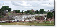 Mighty Sioux Falls Acrylic Print