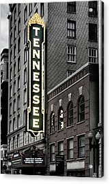 Mighty Tennessee Acrylic Print