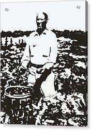 Migrant Farmer Acrylic Print