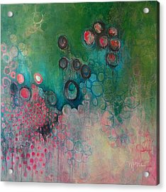 Acrylic Print featuring the painting Migration by Laurie Maves ART