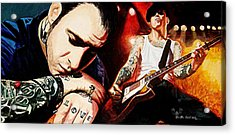 Mike Ness 'nuff Said Acrylic Print