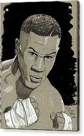 Mike Tyson Acrylic Print