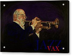 Mike Vax Acrylic Print by Laurie Tietjen
