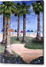 Mike's Hermosa Beach Acrylic Print