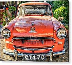 Miki's Car Acrylic Print