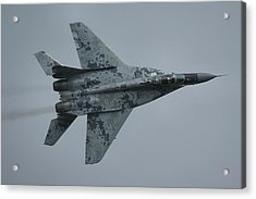 Acrylic Print featuring the photograph Mikoyan-gurevich Mig-29as  by Tim Beach