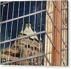 Acrylic Print featuring the photograph Miksang 9 City by Theresa Tahara