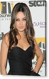 Mila Kunis At Arrivals For 14th Annual Acrylic Print by Everett