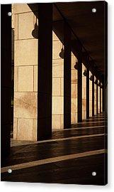 Milan Columns Acrylic Print by Art Ferrier