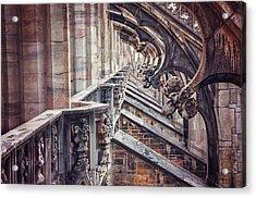 Milan Duomo In Detail  Acrylic Print