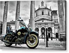 Milan__ Monument S Acrylic Print by Alessandro Giorgi Art Photography