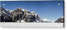 Mile High Cliffs Acrylic Print