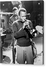 Miles Davis, In A Publicity Still Acrylic Print