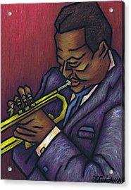 Miles Davis Acrylic Print by Kamil Swiatek