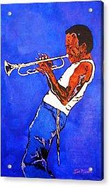 Miles Davis-miles And Miles Away Acrylic Print